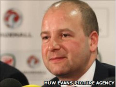 FAW chief executive Jonathan Ford