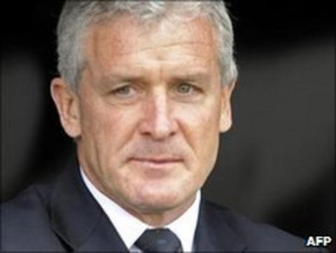 Fulham boss Mark Hughes