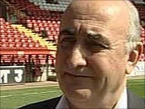 Bristol City chairman Colin Sexstone