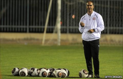Tunisiah coach Sami Trabelsi