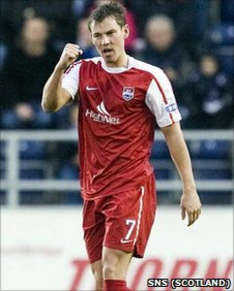 Andrew Barrowman has signed for Dunfermline