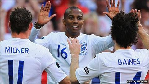 James Milner, Ashley Young, Leighton Baines