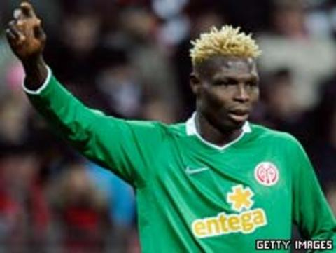 Striker Aristide Bance