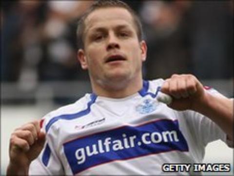 QPR striker Heidar Helguson