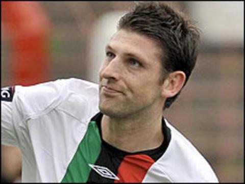 Former Glentoran captain Paul Leeman