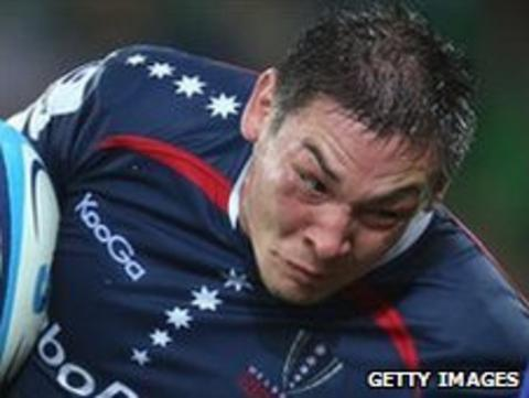 Gareth Delve has impressed in his Melbourne Rebels debut season