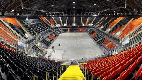 The London 2012 Olympic bastketball arena