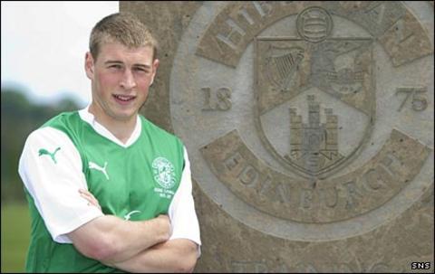 Hibs midfielder David Wotherspoon