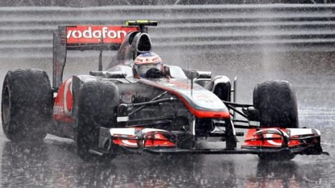 Jenson Button in his McLaren