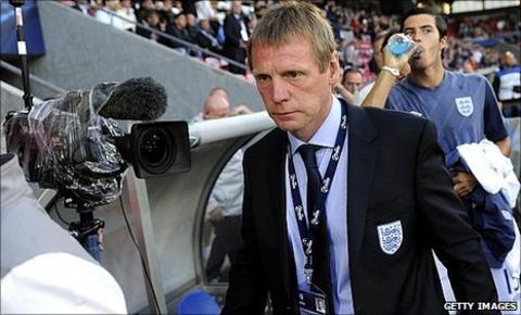 England Under-21 coach Stuart Pearce