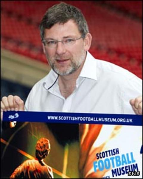 Craig Levein marks 10 years of the Scottish Football Museum