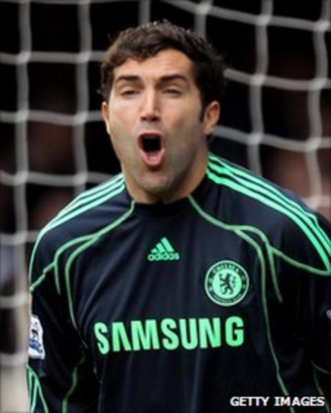 Chelsea's Henrique Hilario