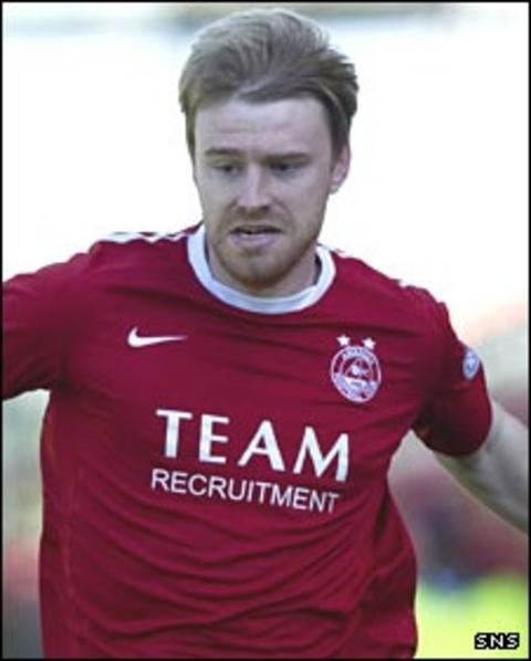 Steven Smith in action for Aberdeen