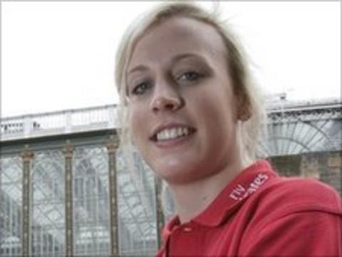 Scottish athlete Lynsey Sharp