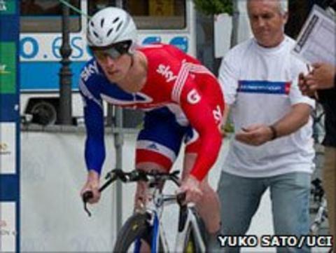 British Para-cyclist Shaun McKeown. Pic: Yuko Sato / UCI
