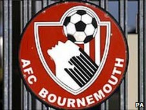 A gate at Bournemouth's Dean Court ground