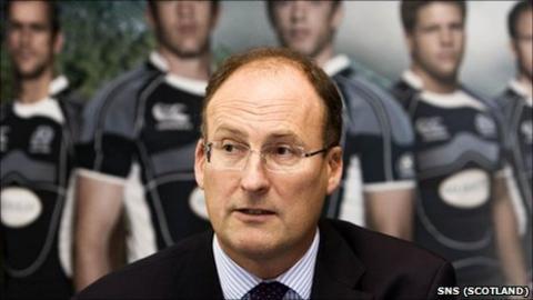 Former SRU chief executive Gordon McKie