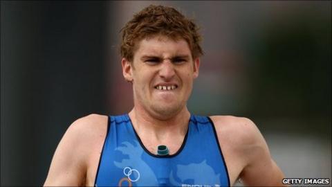 Scottish triathlon athlete David McNamee