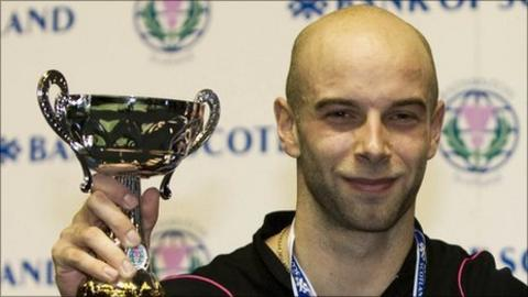 Scottish badminton player Robert Blair