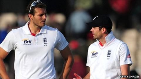 Chris Tremlett and James Anderson