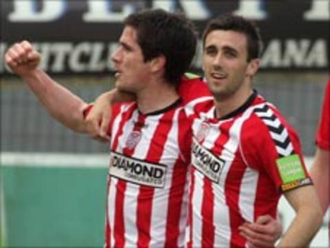 Gareth McGlynn and Daniel Lafferty