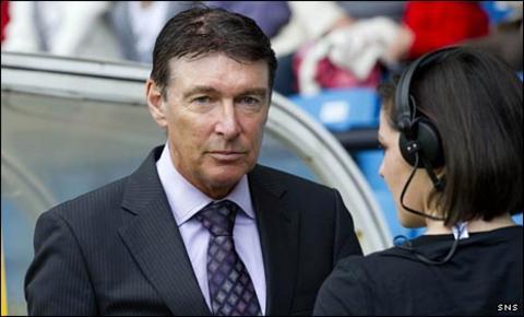 Rangers director of football Gordon Smith