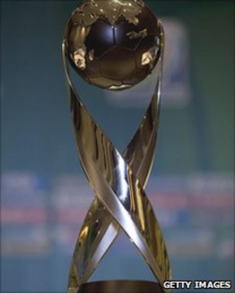 Fifa's Under-17 World Cup trophy