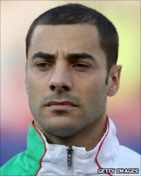 Algeria international Mehdi Lacen