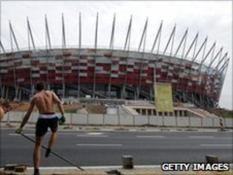 Warsaw's new national stadium