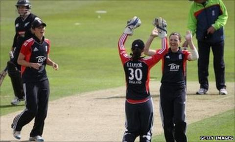 Arran Brindle celebrates another New Zealand victim