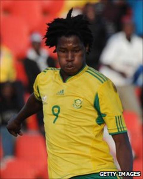 Bongani Ndulula of South Africa