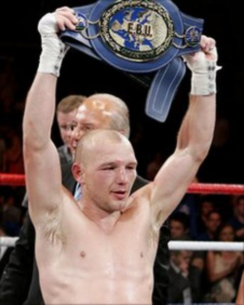 Gavin Rees won the European lightweight title against Andrew Murray in April