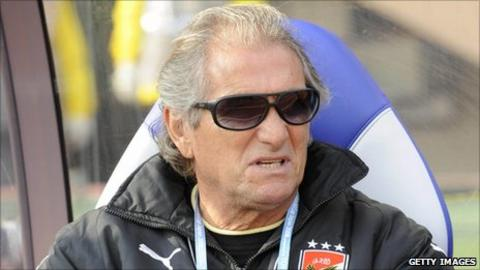 Al Ahly coach Manuel Jose