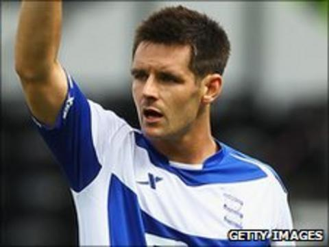 Birmingham City defender Scott Dann