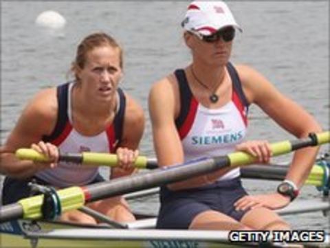Helen Glover & Heather Stanning