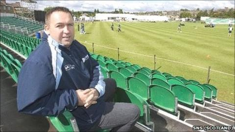 Roddy Smith, Cricket Scotland chief executive