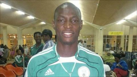 Nigeria under-23 striker Athony Ujah