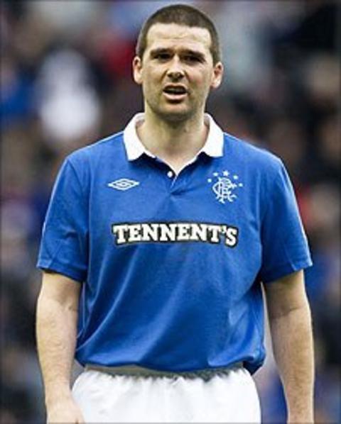 Rangers striker David Healy