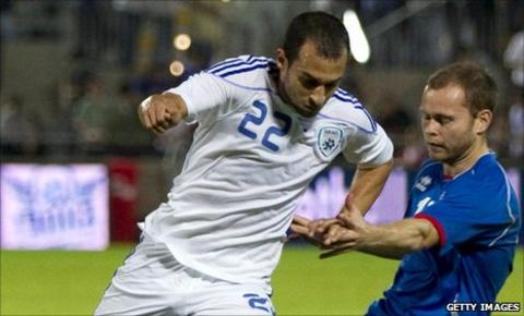 Israel striker Omer Damari