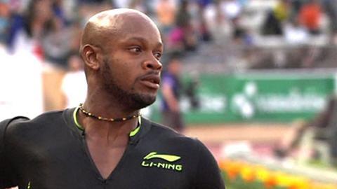 Asafa Powell wins in Lausanne