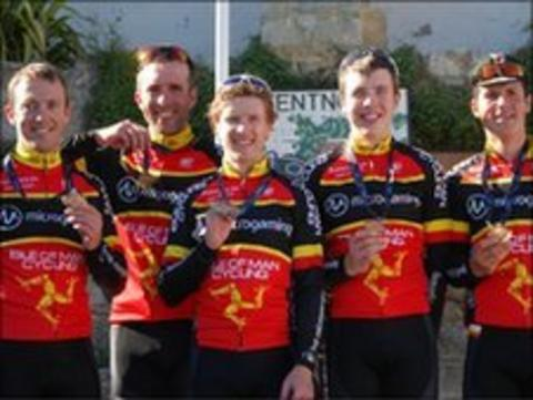 Isle of Man cycling team