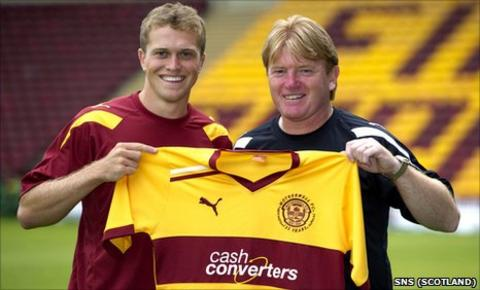 Nicky Law and Stuart McCall