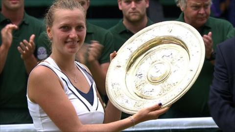 Petra Kvitova beats Maria Sharapova in straight sets