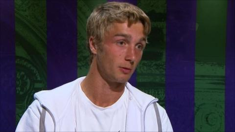 Beaten Liam Broady aims for more glory
