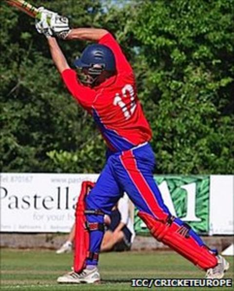 Ryan Driver bats for Jersey