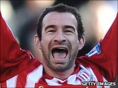 Stoke City defender Danny Higginbotham