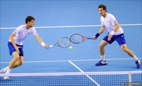 Jamie Murray and Andy Murray