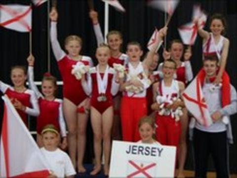 Jersey gymnasts