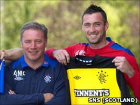 Ally McCoist and Allan McGregor