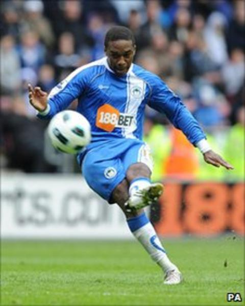 Wigan Athletic winger Charles N'Zogbia